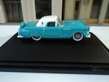 Oxford  1956 Ford Thunderbird  Peacock Blue      1/87   HO   diecast car