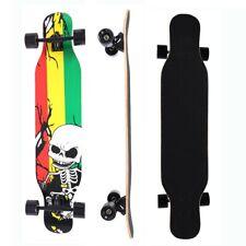 42 Inch Maple Longboard Skateboard Drop Through Complete Skateboard Cruiser