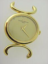 Baume et Mercier 18k Solido Oro Giallo Vintage Custodia Orologio