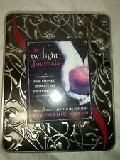 The Twilight Saga 4 Diary Journal Books Collection in Collector Tin GIFT BOX