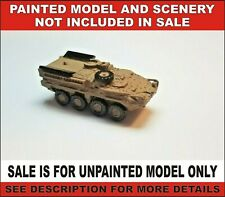 N scale Military IAE Stryker vehicle equipment 1:160 model railroad unpainted