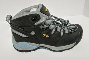 Keen Utility Detroit XT Soft Toe Work Boots, Black/Blue, Women's 10/11