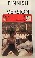 BRUCE LEE 1977 FINNISH Sportscaster card From Finland