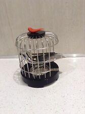 "Alessi ""Tea Matter"" Bird Cage Tea Strainer BNIB  , cover for batteries missing"