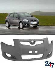 NEW TOYOTA AURIS HATCHBACK 2007 - 2012 FRONT BUMPER WITH FOG LIGHT HOLES