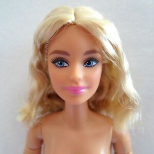 NEW! 2021 Barbie Signature BarbieStyle Made To Move Doll Blonde Articulated NUDE