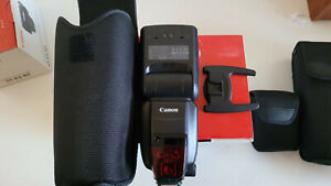 MINT Canon Speedlite 600EX-RT Flash Hot Shoe Wireless E-TTL 600EX In Box!