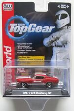 AUTO WORLD 1967 FORD MUSTANG GT #1 Red PREMIUM ACRYLIC CASE 1:64 B