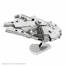 Metal Earth 3D Laser Cut Steel Model Kit Star Wars Millennium Falcon Handmade