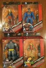 DC Multiverse Doomsday Lot - Supergirl, Superman Doomed, Armored Batman, Robin