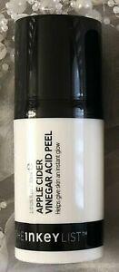 The Inkey List Apple Cider Vinegar Acid Peel 30ml New