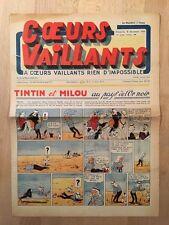 HERGE - TINTIN - COEURS VAILLANTS numéro 49 ( 8 décembre 1940)