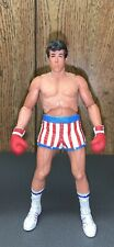 "NECA Rocky Balboa IV Loose 7"" Figure Drago Pre Fight Red White Blue Trunks Loose"