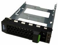 """Fujitsu RX2530 RX2540 LFF 3.5"""" Hot Swap HDD Tray Caddy Rahmen A3C40152045"""