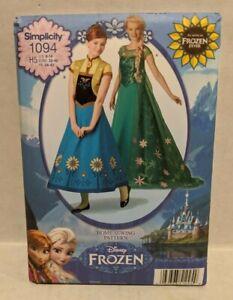 NEW Simplicity Sewing Pattern 1094 Disney Frozen Elsa Anna Costume Ladies 6-14
