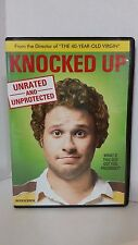 Knocked Up (DVD, 2007, Unrated and Unprotected Katherine Heigl Seth Rogen comedy