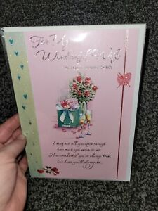 Wife anniversary card NEW - present