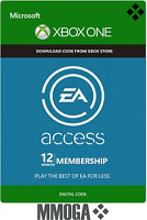 EA Access 12 Month Subscription - Microsoft Xbox One Digital Code - US/Worldwide
