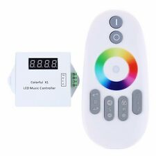WS2811/WS2812B/USC1903 LED Digital Music Controller with RF Touch Remote DC5-24V