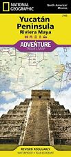 National Geographic Yucatan Peninsula Adventure Travel Map - Mexico - Map # 3105