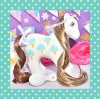 ❤️My Little Pony MLP G1 Vtg 1987 Daddy Apple Delight Loving Family Boy Pony❤️