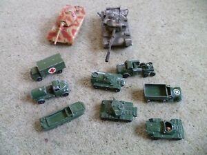 Corgi Model Diecast Tanks King Tiger, Centurion Mk III  Matchbox Lesney Vehicles