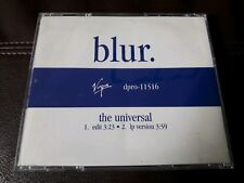 Blur ~ The Universal  cd promo