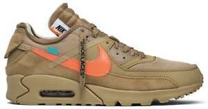 THE 10: Nike Air Max 90 Off-White Desert Ore AA7293-200 UK 6 US 6.5 EU 39
