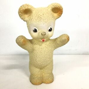 Rubber & Plastic Vintage Toy Bear Made In England #544