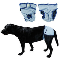 Female Dog Physiological Pants Pet Menstrual Nappy Comfy Breathable Diaper NEW