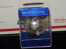 Wallace SilverSmiths Millennium 2000 Metal Ornament New In Box
