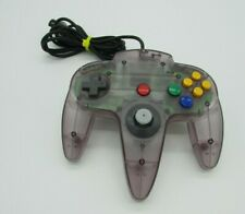 Nintendo 64 Atomic Purple Official OEM Great Condition Nice Stick Used