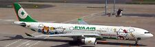 A-330-300 Eva Air Hello Kitty Airbus330 Airplane Wood Model Free Shipping Large