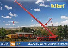 kibri H0 13014 DEMAG HC 665 mit Superlifteinrichtung, Bausatz, Neu