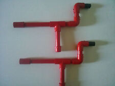 Red Marshmallow Shooters Set of 2 PVC Blow Guns Shoots Mini Mallows Nerf Darts