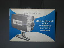 Bell & Howell 430 Autoload Super 8 Instruction Manual