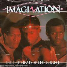 "IMAGINATION - In The Heat Of The Night (UK 2 Trk 1982 7"" Single PS)"