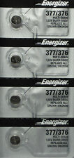 4 NEW ENERGIZER 377 376 SR626SW SR626W WATCH BATTERY