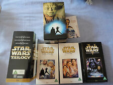 Star Wars Trilogy. VHS.Special Edition THX Digitally Mastered