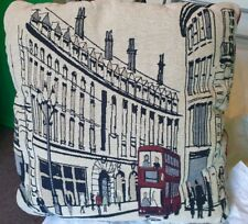 "Novelty Cushion Depicting Old London 17""x17"""