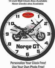 2016 MOTO GUZZI NORGE GT MOTORCYCLE WALL CLOCK-FREE USA SHIP