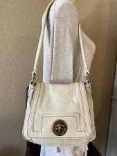 Marc By Marc Jacobs Handbag Off  White Leather Shoulder Bag Purse Paid $285