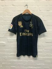 Real Madrid adidas Men's 2019/20 Away Shirt-S -Sergio Ramos 4 -Navy- New