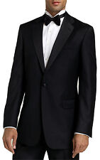 Men's Black Tuxedo Size 50 Long Jacket & 46 Pants. Formal, Wedding, Prom, Dress
