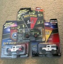 Johnny Lightning 1980 Toyota Land Cruiser Indonesia Police Lot of 3 cars