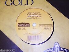 "7"" Gary Puckett & Union Gap/Young Girl & Lady Fuerza de voluntad UK 1983 # 2070"
