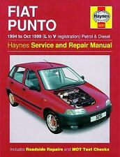 Haynes Car Workshop Repair Manual Fiat Punto Petrol Diesel (94 - Oct 99)