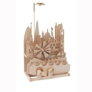 Timberkits London Cityscape - Wooden Moving Model Assembly Construction Gift