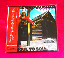 Stevie Ray Vaughan Soul To Soul MINI LP CD JAPAN EICP-1175