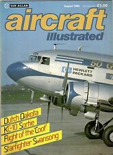 Aircraft Illustrated 1985 August KC-10,Belgian F-104,Borneo,IL-18